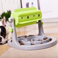 الرول الطاعم تدريب الحيوانات الأليفة لعبة تفاعلية الطاعم الكلب القط بطيئة الأكل أداة التدريب