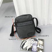 Lässige Crossbody-Bag Wasserdichte Multilayer Nylon Sporttasche
