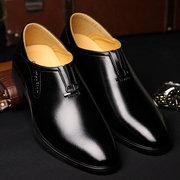Uomo Scarpe Slip-On a Punta  di Stile Classico Formale Business