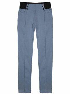 OL Elastic Mid Waist Skinny Women Pencil Pants