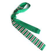 Männer Mode Streifen Gestrickte Krawatten Justierbare Dünne Krawatten Lässige Hochzeit Party Krawatten