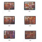 VVHUDA Palette d'ombres à Paupières Mates Nacrées 35 Couleurs Poudre Pigments Cosmétiques Beauté pour Look Nu