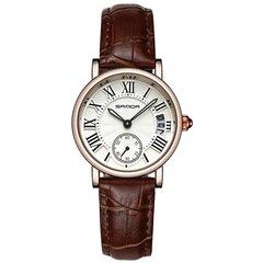 Trendy Quarz Uhren runden Zifferblatt römische Ziffer einfache Lederband Uhren für Frauen