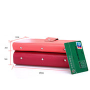 Men And Women Fashion Genuine Leather 96 Card Slots Large Capacity Card Holder