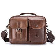 Messenger Bag in Pelle Vera