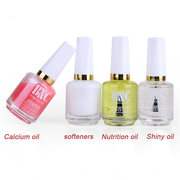 4 Styles Nail Treatment Polish Protection Softener Nutrition Shining 15ML DIY Manicure