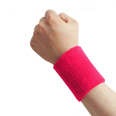 Men Women Fitness Wrist Basketball Sports Sweat Breathable Protector Wristbands
