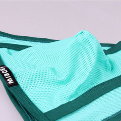 Sexy Underwear Soft Ice Silk U Convex Mesh Breathable Quickly Dry Thongs for Men