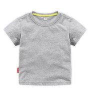 Solid Color Toddler Boys Short Sleeve Tops & T-shirts Kids Summer Clothes For 1Y-13Y