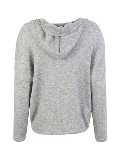 Casual Loose Solid Color Hooded Sweatshirt