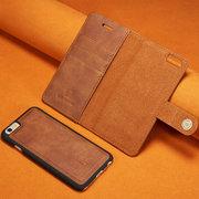 Sacchetto del telefono della scanalatura della carta di 3PCS Trifold 3 degli uomini e delle donne per il sacchetto magnetico dell'insieme di iPhone