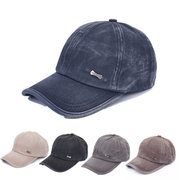 Men Women Washed Cotton Blend Golf Hip-hop Cap Sports Adjustable Outdoor Baseball Hat