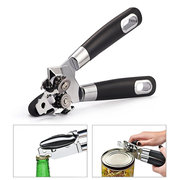Cans Opener Professional Ergonomic Manual Side Cut Can Opener Stainless Steel Beer Opener