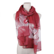 Women Vogue Voile Breathable Summer Thin Beach Scarf 180*70cm Oversize Shawl