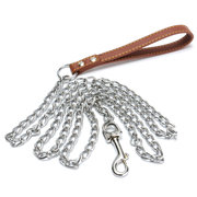Heavy Duty Chain Pet Dog Lead Leash for Large Size Dogs