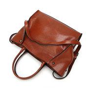 النساء ريترو بو الجلود حقيبة يد قدرة كبيرة حقائب الكتف