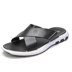 Men Comfortable Sole Water Garden Beach Sandals Casual Slipers