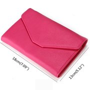 Women PU Leather Card Holders Passport Wallet Purse Business Clutches Bags
