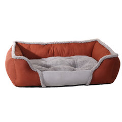 Autumn Winter Warming Soft Pet Dog Sofa Bed Fleece Plush Cushion Washable Puppy Warm Kennel