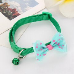 Cute Puppy Kitten Dogs Cat Pet Bow Tie Bell Bowtie Adjustable Collars Supplies