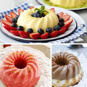 Silicone Pan Ring Shaped Cake Pastry Bread Mold Tray Mould Bakeware Kitchenware Silica Cake Mould