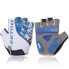 Men Women Half-finger Cycling Breathable Slip Gloves Outdoor Sports Equipment
