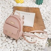 Women Large-Capacity Multi-Functional Pu Leather Backpack