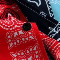 Mens Funny Hawaiian Ethnic Style Summer Short Sleeve Printed Casual Shirt