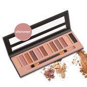 12 couleurs Maquillage Ombre à paupières Palette Matte Shimmer Smoky Eye Shadow Cosmetic