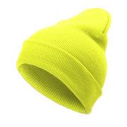 النساء الرجال الصلبة محبوك الدافئة بيني قبعة عارضة الهيب هوب ترهل skullies بونيه كاب