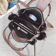 Women Vintage Handbag PU Leather Shoulder Bag Crossbody Bags