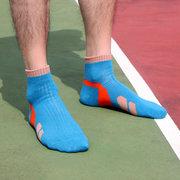 На открытом воздухе Спортивный контрастный толстый амортизирующий носок для мужчин