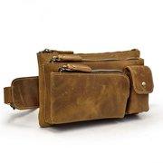 Multi-Taschen Fanny Pack Hüfttasche Gürteltasche Brusttasche Gürteltasche