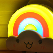 Night Light Cartoon Lovely Rainbow Clound Shaped LED Light Bedroom Home Decor