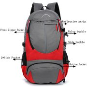 Men And Women Nylon Outdoor Travel Backpack Anti-Seismic Portable Large Capacity Bags