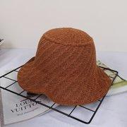 Cappello da spiaggia da mare per donna, da viaggio, da viaggio, pieghevole e traspirante