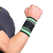 Adult Fitness Basketball Wristband Sports Knitted Bandage Wristband Protective Gear