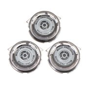 3 Pcs Replacement Shaver Head Double Blades For Philips Electric Razor HQ8