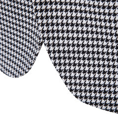 Mens Business Casual Plaid Pockets Single Breasted Design Slim Blazer
