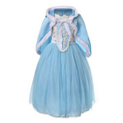 Девушки Red Hat Princess Cosplay Costume Halloween Party Dresses Party для 4Y-13Y