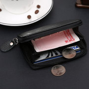 Genuine Leather Multi-functional Coin Bag Card Holder Mini Wallet