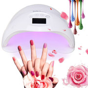 48W UV Led Nail Lamp Curing All Types Nail Gel Polish Quicky Dry Nail Dryer Manicure DIY Tool Machin
