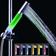No battery 7 Colors LED Cylinder Shower Head Led Shower Colors Change With Water Temperature