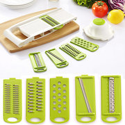 Multifunctional 5 IN 1Peeler Grater Vegetables Cutter Carrot Grater Onion Slicer Kitchen Accessories