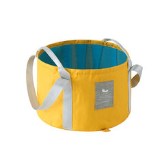 Portable Folding Washing Foot Bucket Bag Outdoor Traveling Laundry Folding Basin Personal Foot Care