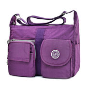 Women Nyolon Multipocket Crossbody Bag Shoulder Bag Messenger Bag