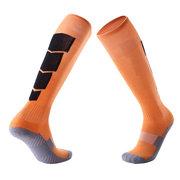 Antideslizante Over Knee Football Thick Long calcetines Calzado deportivo para hombre que absorbe el sudor