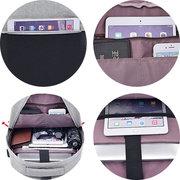 Poliestere USB di ricarica casuale 16 pollici Laptop Borsa zaino per uomo donna