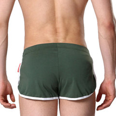 Casual Home Sports Outdoor Cotton Loose Fit Mid Waist Breathable Sleepwear Shorts for Men
