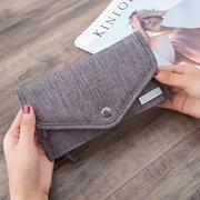RFID حامل جواز سفر المرأة بطاقة حقيبة وثيقة حقيبة متعددة الوظائف ضد للماء حقيبة سفر